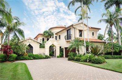 Naples Single Family Home For Sale: 2959 E Tiburon Blvd