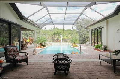 Naples Single Family Home For Sale: 1011 Tivoli Dr