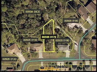 Bonita Springs Residential Lots & Land For Sale: 11166 Coimbra Ln