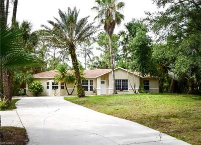 Naples Single Family Home For Sale: 3791 SW 31st Ave