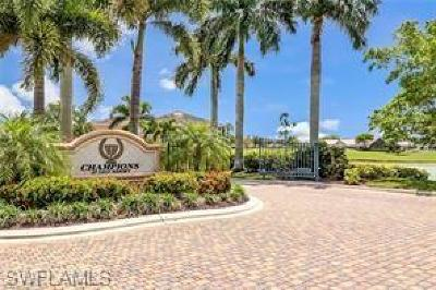 Lely Resort Condo/Townhouse For Sale: 8633 Champions Pt #803