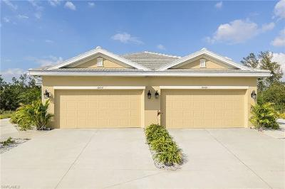Fort Myers Single Family Home For Sale: 10406 Santiva Way #3-003