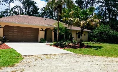 Naples Single Family Home For Sale: 530 NE 12th Ave