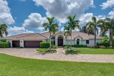 Naples Single Family Home For Sale: 692 Carica Rd