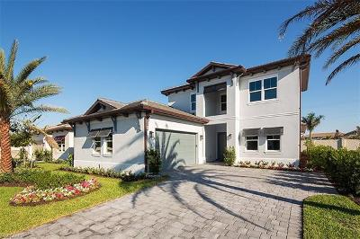 Naples Single Family Home For Sale: 3790 Sapphire Cove Cir