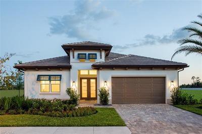 Naples Single Family Home For Sale: 3791 Sapphire Cove Cir