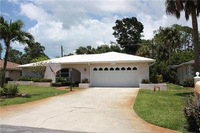 Naples Single Family Home For Sale: 4337 Robin Ave