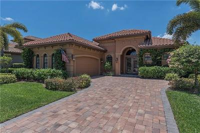 Naples Single Family Home For Sale: 15811 Secoya Reserve Cir