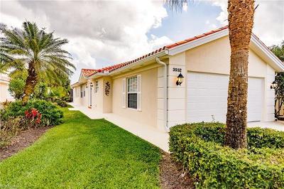 Naples Single Family Home For Sale: 3552 El Verdado Ct