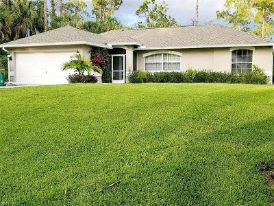 Naples FL Single Family Home For Sale: $287,000