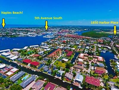 Naples Single Family Home For Sale: 1850 Harbor Pl