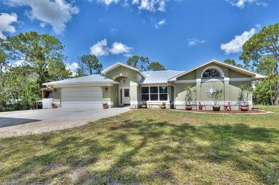 Naples Single Family Home For Sale: 2761 NW 4th St