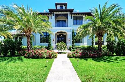 Naples Single Family Home For Sale: 277 S Gulf Shore Blvd