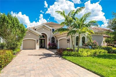Naples Single Family Home For Sale: 12328 Wisteria Dr
