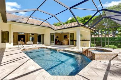 Naples Single Family Home For Sale: 1006 Tivoli Ln