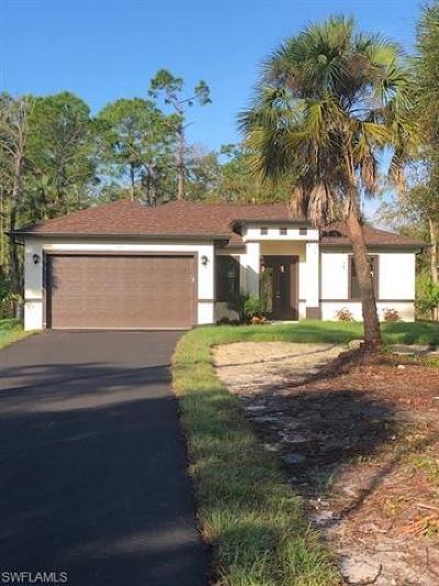 Naples Single Family Home For Sale: 3570 E Golden Gate Blvd