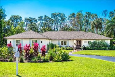 Naples Single Family Home For Sale: 1050 Silver Sands Ave