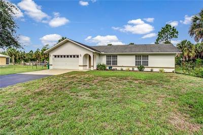 Naples Single Family Home For Sale: 811 NE 6th St
