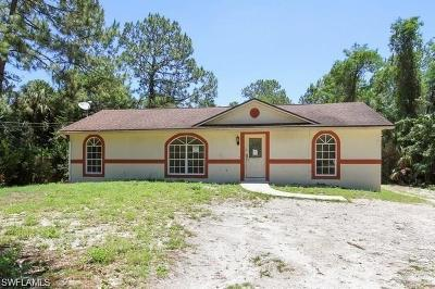Naples Single Family Home For Sale: 1830 SW 21st St