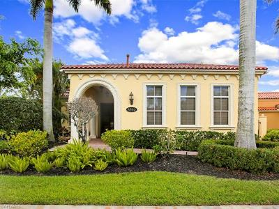 Naples Single Family Home For Sale: 8560 Bellagio Dr