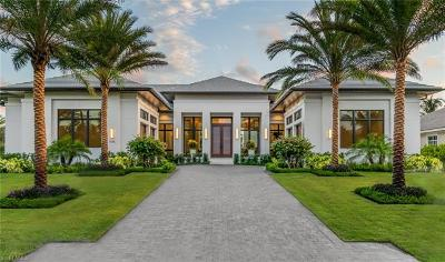 Naples FL Single Family Home For Sale: $7,495,000