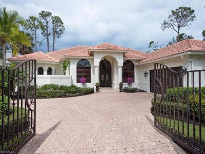 Naples Single Family Home For Sale: 2144 Harlans Run