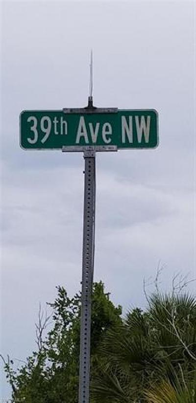 Naples Residential Lots & Land For Sale: NW 39th Ave