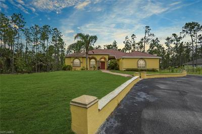 Naples Single Family Home For Sale: 4240 NE 14th Ave