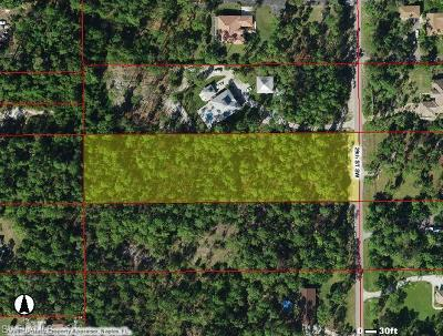Naples Residential Lots & Land For Sale: 0000 SW 29th St