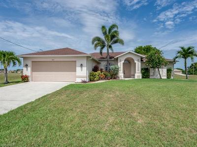Cape Coral Single Family Home For Sale: 1612 NW 7th Ave