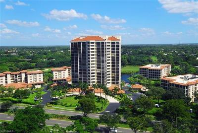 Condo/Townhouse For Sale: 6000 Pelican Bay Blvd #1201