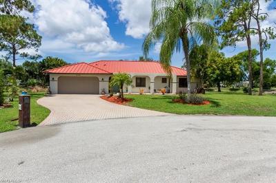 Bonita Springs Single Family Home For Sale: 11750 Bernard Ct