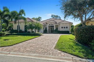 Naples Single Family Home For Sale: 212 Charleston Ct