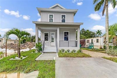 Naples Single Family Home For Sale: 3180 Van Buren Ave