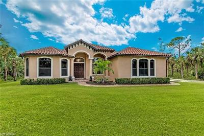 Naples Single Family Home For Sale: 551 NW 9th St