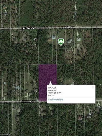 Naples Residential Lots & Land For Sale: 271 NW 22nd Ave
