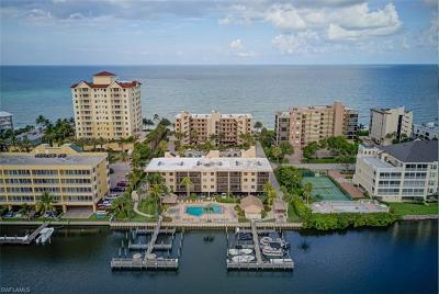 Naples Condo/Townhouse For Sale: 9318 Gulf Shore Dr #302 (We