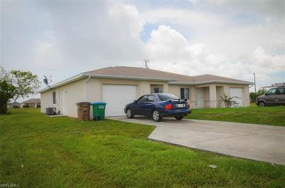 Cape Coral Multi Family Home For Sale: 2121 Andalusia Blvd