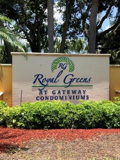 Fort Myers Condo/Townhouse For Sale: 11511 Villa Grand #508
