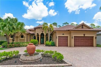Naples Single Family Home For Sale: 14708 Beaufort Cir