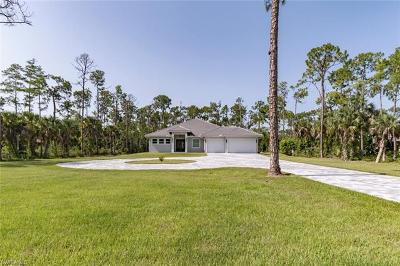 Naples Single Family Home For Sale: 4400 NW 5th Ave