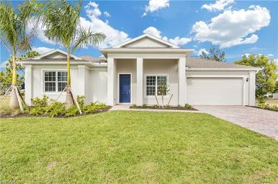 Cape Coral Single Family Home For Sale: 1839 SW 38th Ln