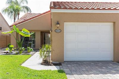 Naples Single Family Home For Sale: 833 Reef Point Cir