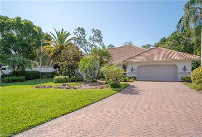 Naples Single Family Home For Sale: 1260 Goldfinch Way #70