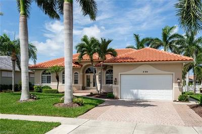Marco Island Single Family Home For Sale: 458 Marquesas Ct
