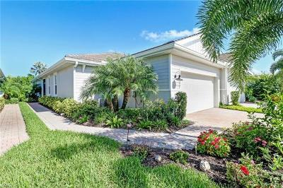 Naples Single Family Home For Sale: 14947 Edgewater Cir