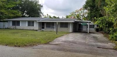 Fort Myers Single Family Home For Sale: 1235 Carlene Ave