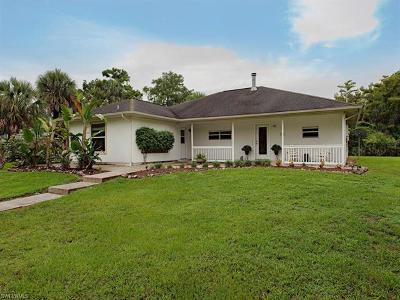 Naples Single Family Home For Sale: 1170 Shady Ln