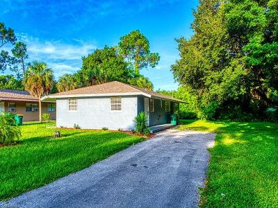 Naples Single Family Home For Sale: 820 Central Dr