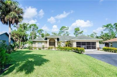 Naples Single Family Home For Sale: 1431 SW 19th St